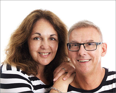 Sam and Jane Southall at Only Headshots
